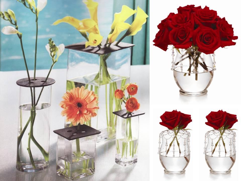 3-simple-diy-wedding-centerpiece-ideas-red-roses-wedding-flowers ...